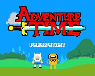 8-Bit Adventure by The-11th-Doctor