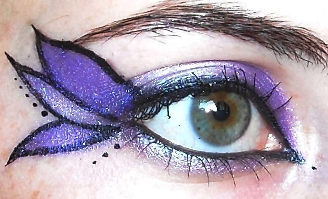 Purple butterfly by Georgya10