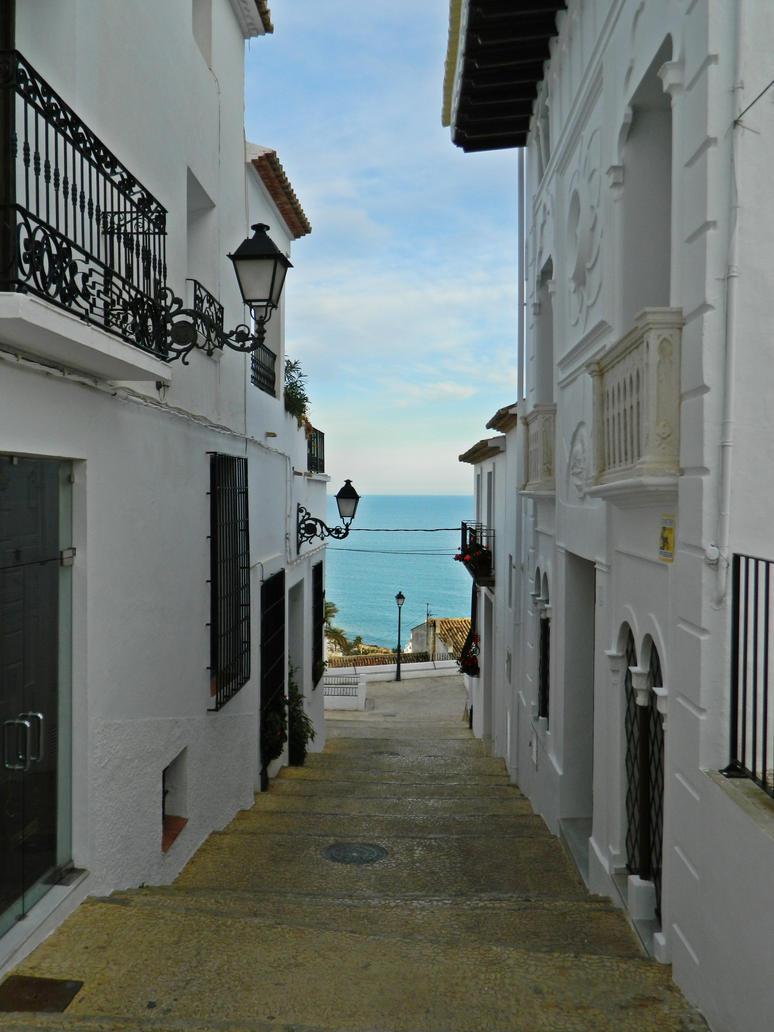 Beautiful spanish village by Georgya10