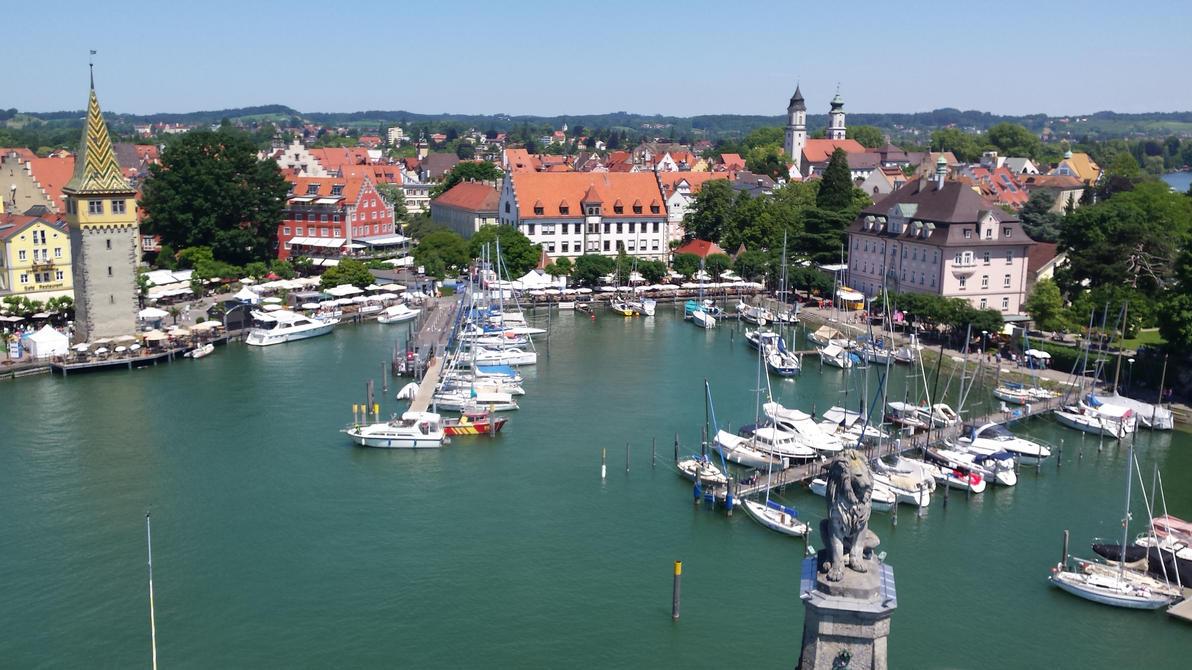Lindau Hafen by Georgya10