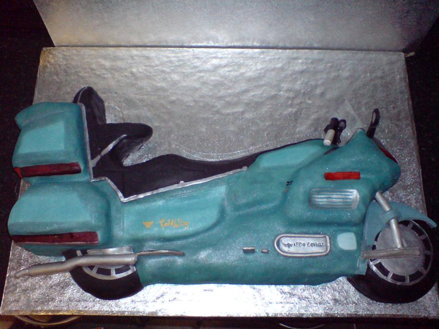 Honda Goldwing Cake By PipsNoveltyCakes On DeviantArt