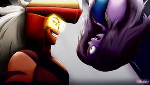 Jasper vs Amethyst / Steven Universe Scene Redraw