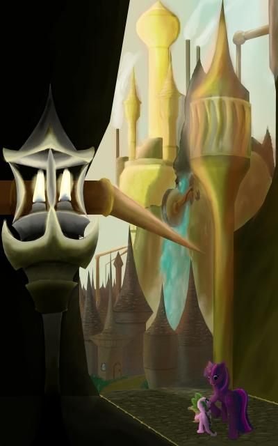 GasLamp City by ZeroDevil