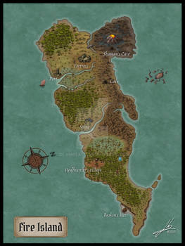 The Island of the Lizard King, Inkarnate Version