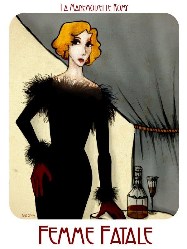 'La mademoiselle Romy' by monarcat