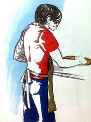 Bucky Sandwich by Itachi-of-Akatsuki