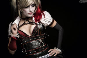 Arkham Knight Harley Quinn Teaser by MaiseDesigns