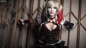 Arkham Knight Harley Quinn Close Up