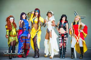 Steampunk X-Men Girls by MaiseDesigns