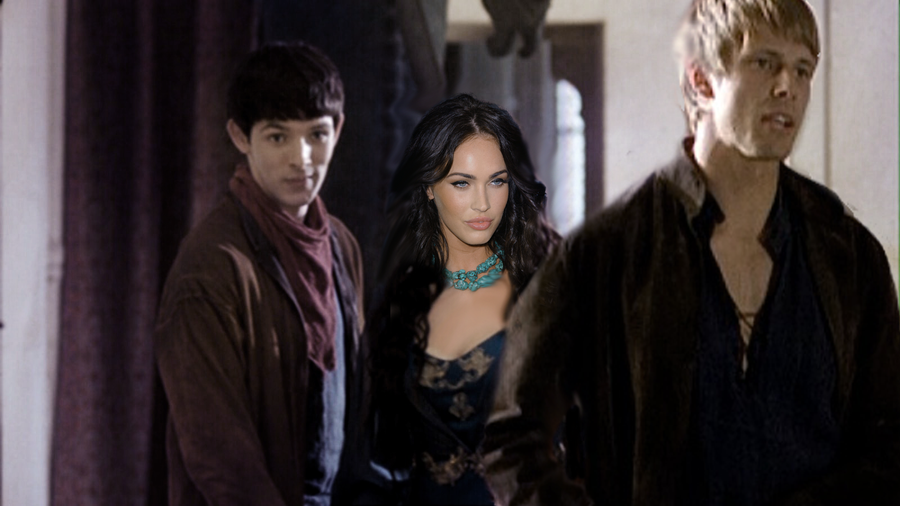Megan Fox , Bradley James and Colin Morgan by HellKobra on ...