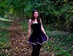 Ballerina In The Woods V