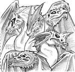 DnD chromatic dragons