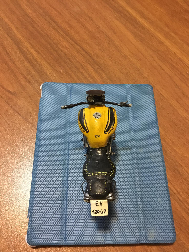 My Mt-03 Extreme Yellow Replica  by GiuseppeIlSanto