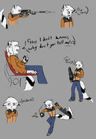 Nauroo Sketch Dump by The-oTTerboT