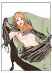Guiseppe-cafaro - Witchblade Sara Pezzini   Pencil