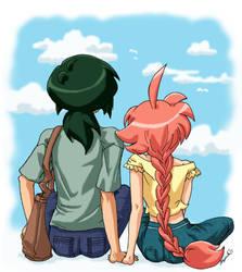 Fakiru Week - Cerulean Skies by amako-chan