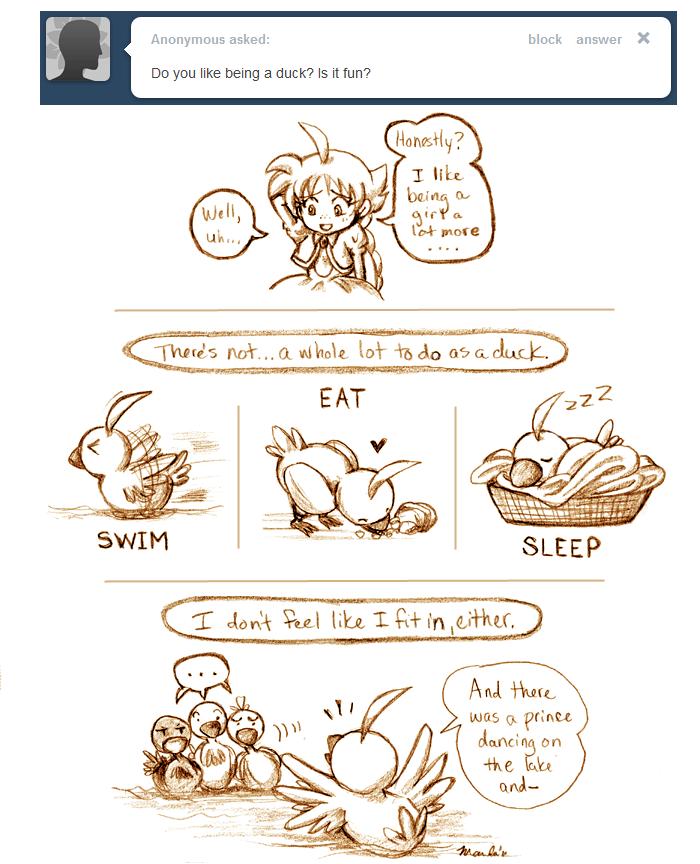 Ask Ahiru - Question 8 by amako-chan