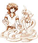 Fakiru Tangled - TOO MUCH DAMN HAIR by amako-chan