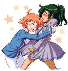 Fakiru (Hiro and Kira) - Rule 63 by amako-chan