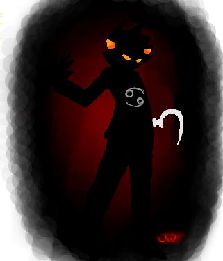Shadow Karkat by Jam-Bot