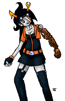 Clockpunk Vriska by Jam-Bot