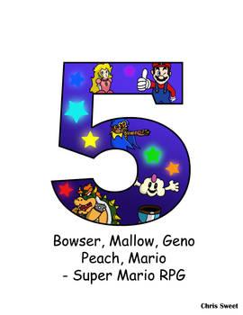 Video Game Alphabet - 5