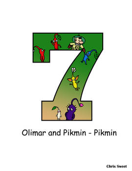 Video Game Alphabet - 7