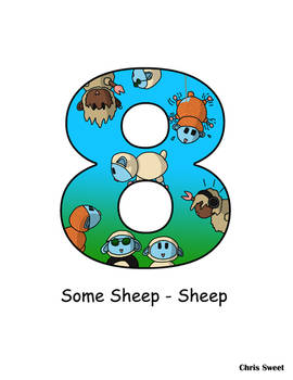 Video Game Alphabet - 8