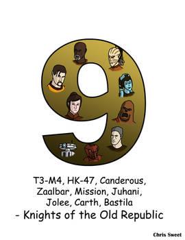 Video Game Alphabet - 9