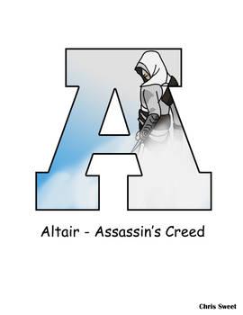 Video Game Alphabet - A