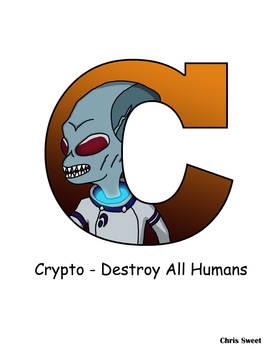 Video Game Alphabet - C