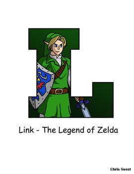 Video Game Alphabet - L