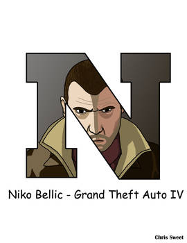 Video Game Alphabet - N