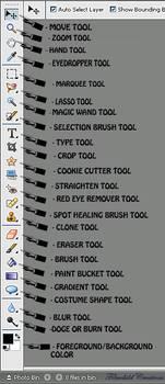 Photoshop Tool Tutorial by Filmchild
