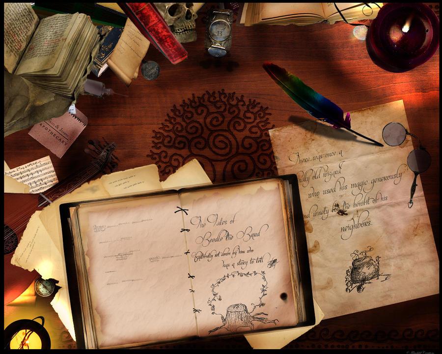 Προεπισκόπηση φύλλου χαρακτήρα Beedle_the_Bard__s_Desk_by_Filmchild