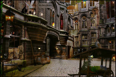 Quiet at Diagon Alley by Filmchild