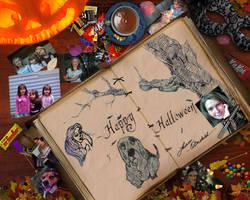 My Desk Halloween