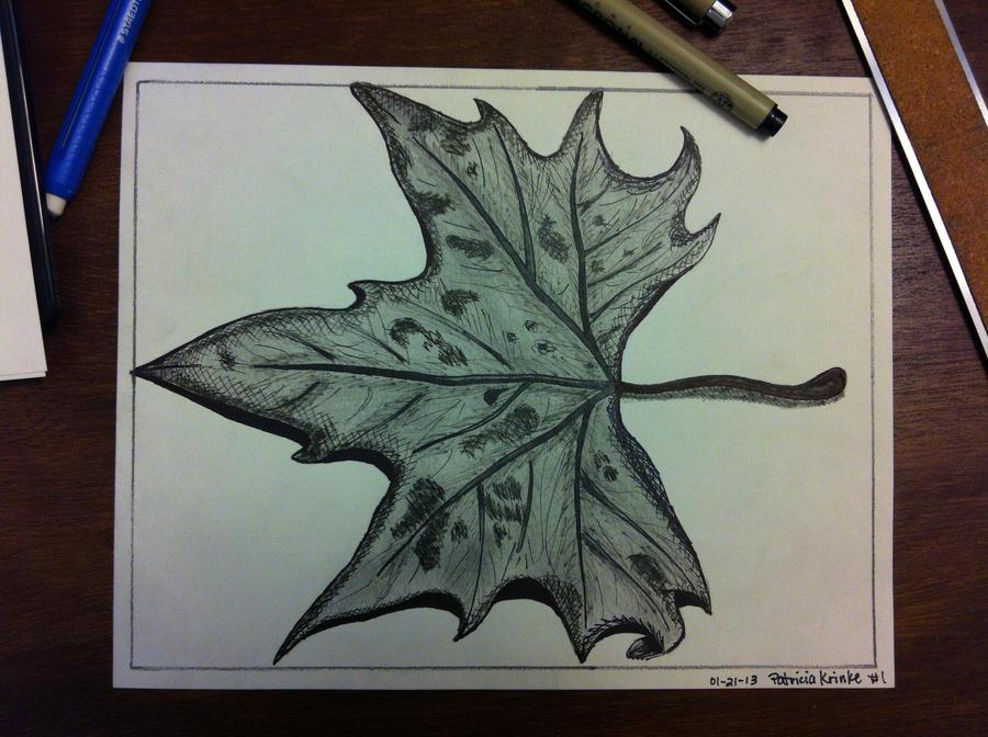 Just a Leaf by shadwgrl