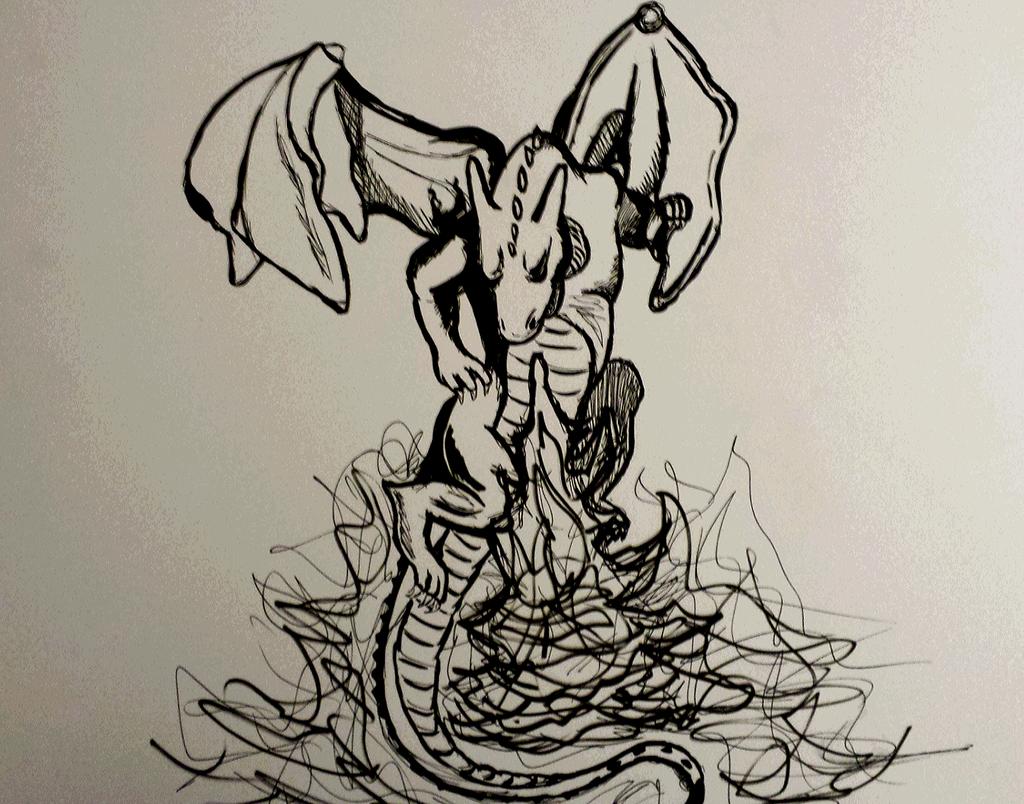 miscellaneous fire dragon picture - photo #16