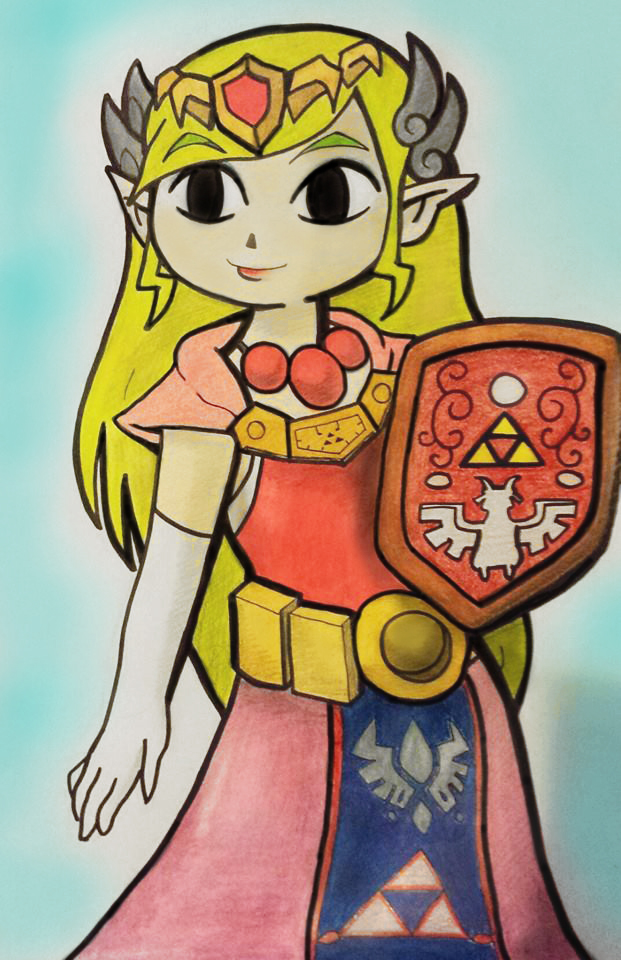 Princess Zelda by shadwgrl