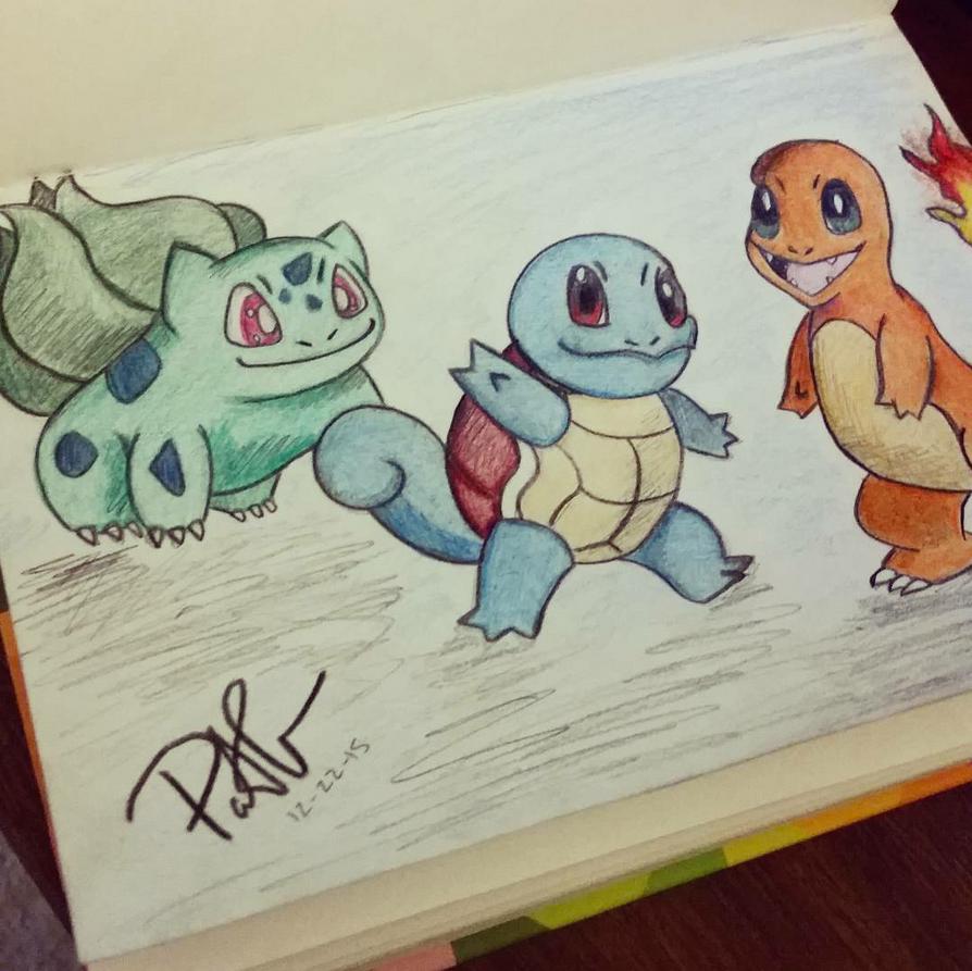 Pokemon Sketch by shadwgrl