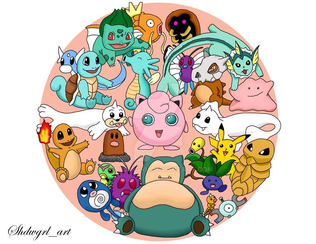 Pokemon Pokeball by shadwgrl