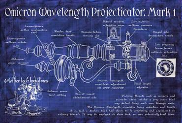 Omicron Wavelength Projecticator Schematic
