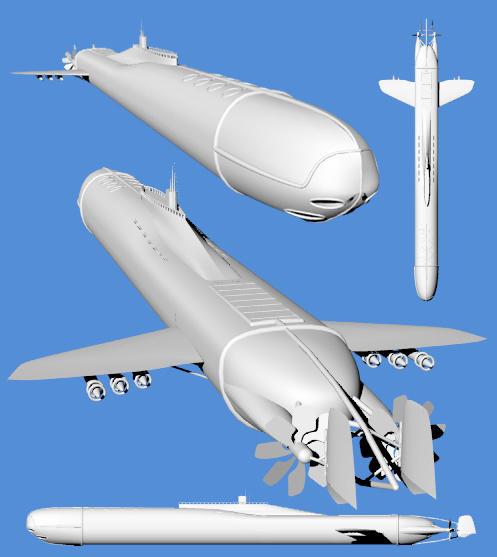 Torpedo Submarine by illuminatus-shadow