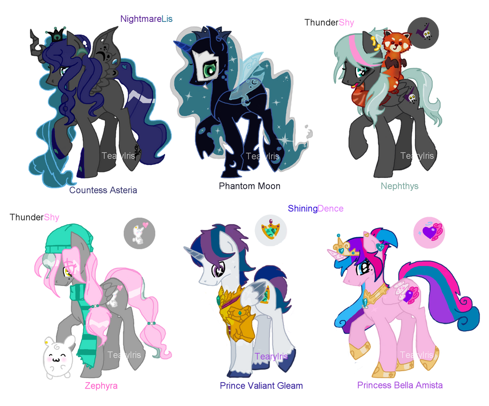 MLP Shipping Draw to Adopts 16 (CLOSED) by TearyIris