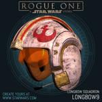 Y-Wing Helmet for Longbow Squadron 'Longbow 9'