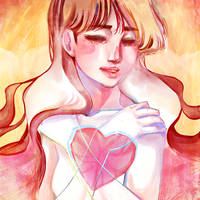 Paper Heart by KMCeci