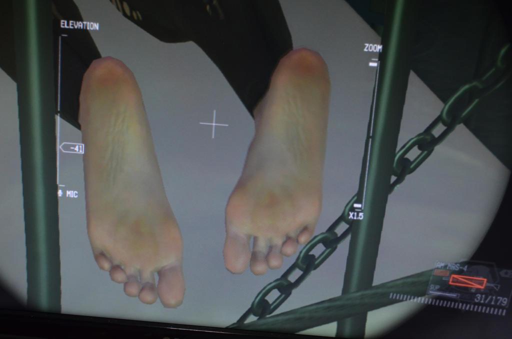 stefanie joosten feet soles mgsv quiet by