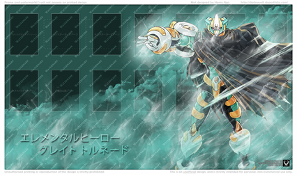 Elemental Hero Great Tornado by DarkRevolt