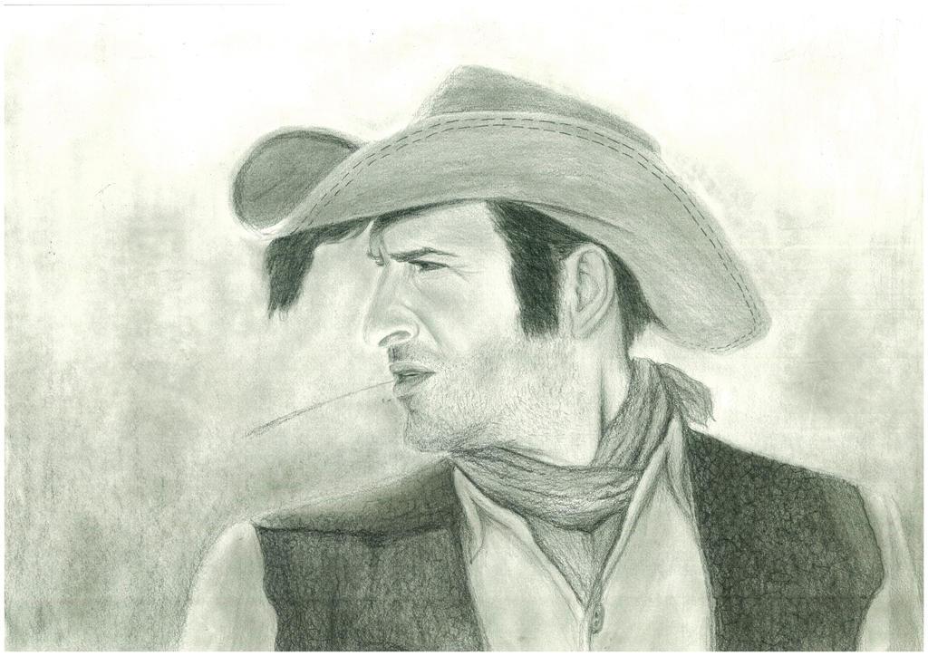 Jean Dujardin by RenolArt